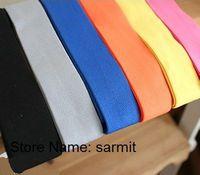 3071002 - 4cm Width 30 Yds./lot Mixed Colors Elastic Strap Elastic Rubber Band Belt Cummerbund Free Shipping Waist Band