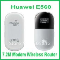 Real Free Shipping Unlocked Huawei E560 Usb 3G 7.2M Modem Wireless Router
