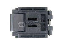 QFP48 TQFP48 LQFP48 FPQ-48-0.5-06 Enplas IC Test Burn-in Socket Adapter 0.5Pitch Free Shipping