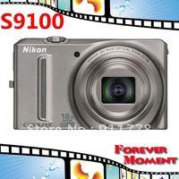 S9100 Original Nikon COOLPIX S9100 18x Optical Zoom,4x Digital Zoom,12MP Sensor Resolution Digital Camare Free Shipping!!!