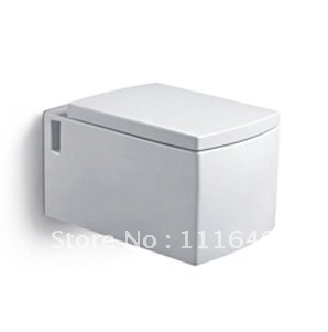 9616 Sanitary ware Bathroom Ceramic Rectangular Wall Hung Toilet/ Water Closet/W.C.(China (Mainland))
