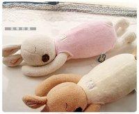 Hot Sale High Quality Two Color Soft Sleep Sugar Rabbit Plush Toy-2pcs