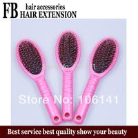 hair extension brush,Loop Brush,Loop Brush for Hair Extension,Pink,5pcs/lots