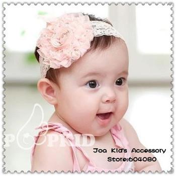 Knitting Patterns: Flower Baby Headbands - blogspot.com