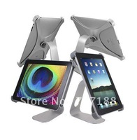 New Aluminum 360 Rotatable Rotating Desktop Holder Stand for New iPad 2 3,free shipping!!!