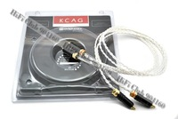 NEW  Kimber Kable KCAG Interconnects with WBT connector RCA  interconnect cable 1.5M pair