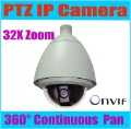 ONVIF 6'' CCD 480TVL IP High Speed Dome Camera PTZ outdoor camera,32X zoom,3.6-96 mm lens,KE-NP6900