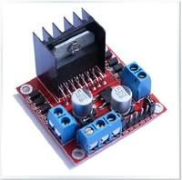 Free Shipping,L298N Dual H Bridge DC stepper Motor Driver Board module ,High Qualiy