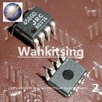 50 PCS NJM4580D DIP-8 NJM4580 4580D JRC DUAL OPERATIONAL AMPLIFIER