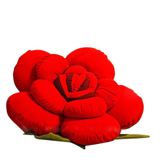 Home use throw pillow flower rose pillow Soft Sofa Pillow Free shipping Z085(China (Mainland))