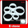 Free Shipping 3sets/lot Round Shape Cake Decorating Cookies Cutter Paste Sugarcraft Mold Tool