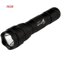 Sales promotion!!!! 10pcs Ultratfire 502B  led  Flashlight 5 Mode 1000LM CREE XM-L T6 LED waterproof  torch,Free shiping