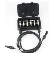 Factory price 160W-180W solar junction box,with 0.9meter cable and mc4 connector  for solar panel