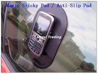 Powerful Silica Gel Magic Sticky Pad Anti Slip Non Slip Mat for Phone PDA mp3 mp4 Car Free Shipping 8633
