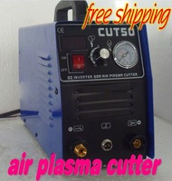 220V Digital display type 50A plasma cutting machine DC Inverter AIR plasma cutter /free shipping
