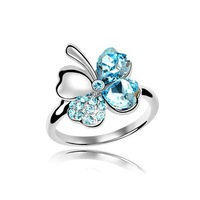 Good Luck Leaf Colver Ring/Fashion Rings