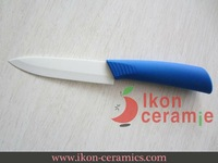 "Free Shipping! High Quality Zirconia New 100% 5"" Ikon Ceramic utility Knife(AJ-5001W-BBL)"