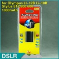PISEN Battery for Olympus LI-12B Li-10B Stylus 810 800 600 New