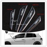 Car Sticker/Carbon fiber door anti-collision bar/door anti-collision strip/rub strip/4pcs one set/Free shipping