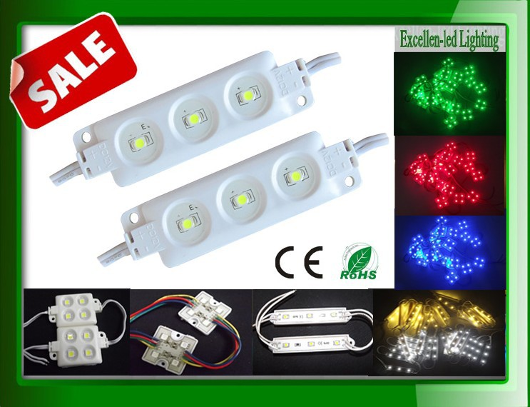 best Used to display ads font and logos Mould plastics shaping smd 3528 led module 3leds free shipping via DHL(China (Mainland))