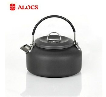 Outdoor Kettle Camping Cookware Water Pot 1.4L 210g Lightweight CW-K03