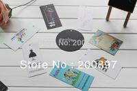 Custom clothing hang tag paper garment swing hanging tag 1000pcs/lot
