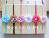 50sets/lot 7 colors for your choosen nice flower with hair band wholesale price