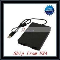 Free Shipping + Wholesale 5pcs/lot New External USB 1.44MB Floppy Disk Drive Mitsumi Ship from USA-CV194