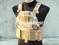 FREE SHIPPING COST,6094 TMC 1000D Cordura WARRIOR Tactical Attack Plate Carrier,NIJ IV protection level