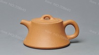 A-Class YIXING purple clay pure handwork teapot,140ML. free shipping,LM1203