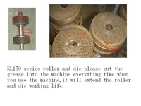 KL150 series pellet machine 2.5mm die