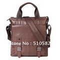 2012 new 'GEAR BAND '  Fashion Business Series -Men's  Genuine leather bags leather business men's portable multifunctional bag