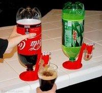 Free shipping 1pcs/lot Fridge Fizz Saver Soda soft drink Dispenser