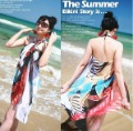 Free Shippong-2012 -New Arrival Bikini cover-up,150cm*105cm-Min order:10pcs/lot
