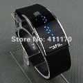 Free shipping 2012 New Arrival Blue LED Watch,Fashion Casual men's watches,1 pcs/lot
