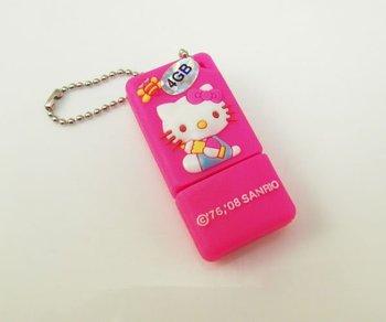 3D  Kitty Flash Pen Drive-Memory USB FLASH Memory Stick 4GB/8GB/16GB/32GB