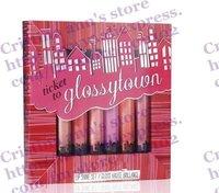 12Set/Lot !  Lip shine set gloss haute brillance Ticket to glossytown makeup lip gloss set makeup kit Free shipping