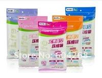 FREE SHIPPING!! 5PCS / LOT Vacuum Storage Bag/Vacuum Compressed Bag/Vacuum space saving compressed storage bag
