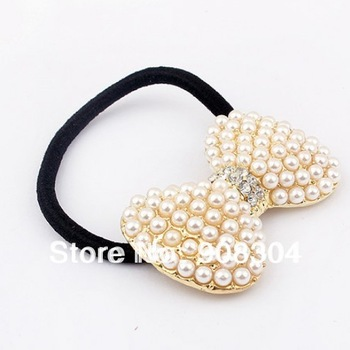 Min order is 10usd ( Mix order ) pearl bow hair band hair jewelry  hair clip wholesale ! Free shipping !