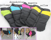 large dog bodywarmer clothes big size dogs winter jacket golden retriever warm ski vest 4colors