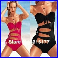Free shipping 2012 Pink Super Sexy Secret One Piece Swimsuit Women sexy Swimwear Wholesale 10pcs/lot 40382