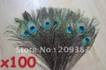 Big Eyed Peacock Tail Feathers / Natural State Top Quality Peacock Feather 100 pcs per lot.