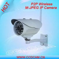 CCTV CMOS CCD M-JPEG Image Compression waterproof IR IP Camera wireless outdoor IP camera EC-IP2543W