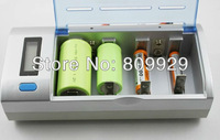 Brand new arrived  Multiply functions  LCD Quick  for AA/AAA/C/D/9V NIMH/NICD battery  charger