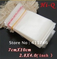 500PCS Various Size OPP Seal Bags For Jewelry Store Self Adhesive Seal Bags 7x10cm 2.8x4.0inches Free Ship
