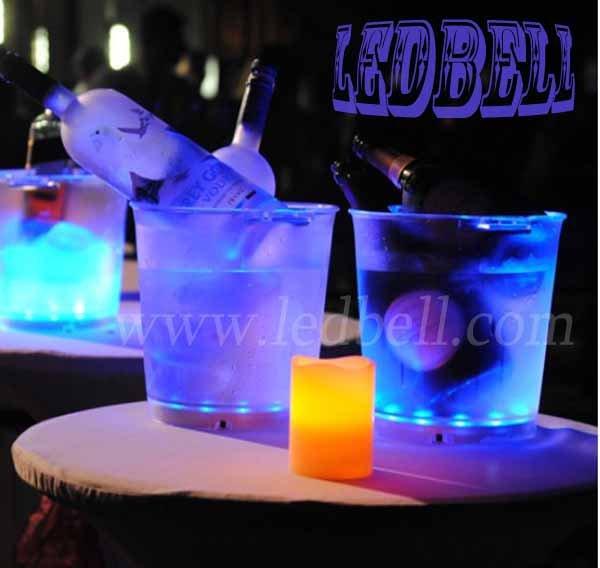Аксессуары для бара Factory price LED Ice Bucket led barware lighting
