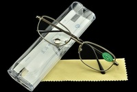 reading glasses with case 2014 new arrival hot selling  free shipping