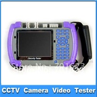 "3.5"" tft screen w/ 12v output CCTV camera video Tester  Multifunction LCD Security Tester Camera CCTV High DPI Test Monitor 1103"