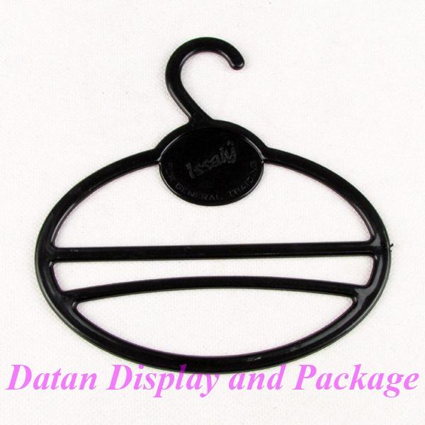 Wholesale 30 Black Plastic Necktie Scarf Hanger Display Stand Holder Closet Organizer(China (Mainland))