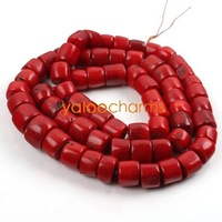 Wholesale - 100Gram Natural Red Coral beads Semi-Precious Stone Jewelry Beads 9-15mm  Free shipping, 111212-1